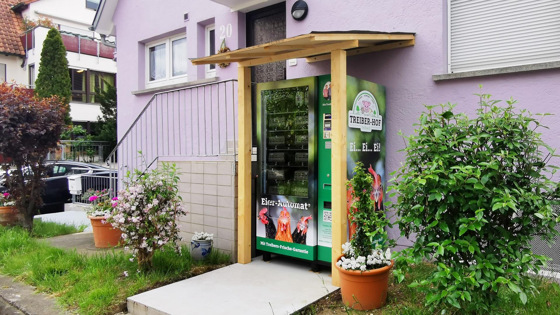 Eierautomat - Hegnacher Straße 20 - 70736 Fellbach-Schmiden